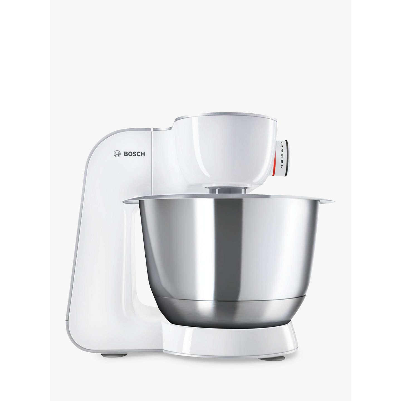 Bosch MUM58200GB CreationLine Kitchen Machine Food Mixer, Silver ...