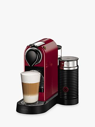 Nespresso CitiZ & Milk Coffee Machine by KRUPS with Milk Frother