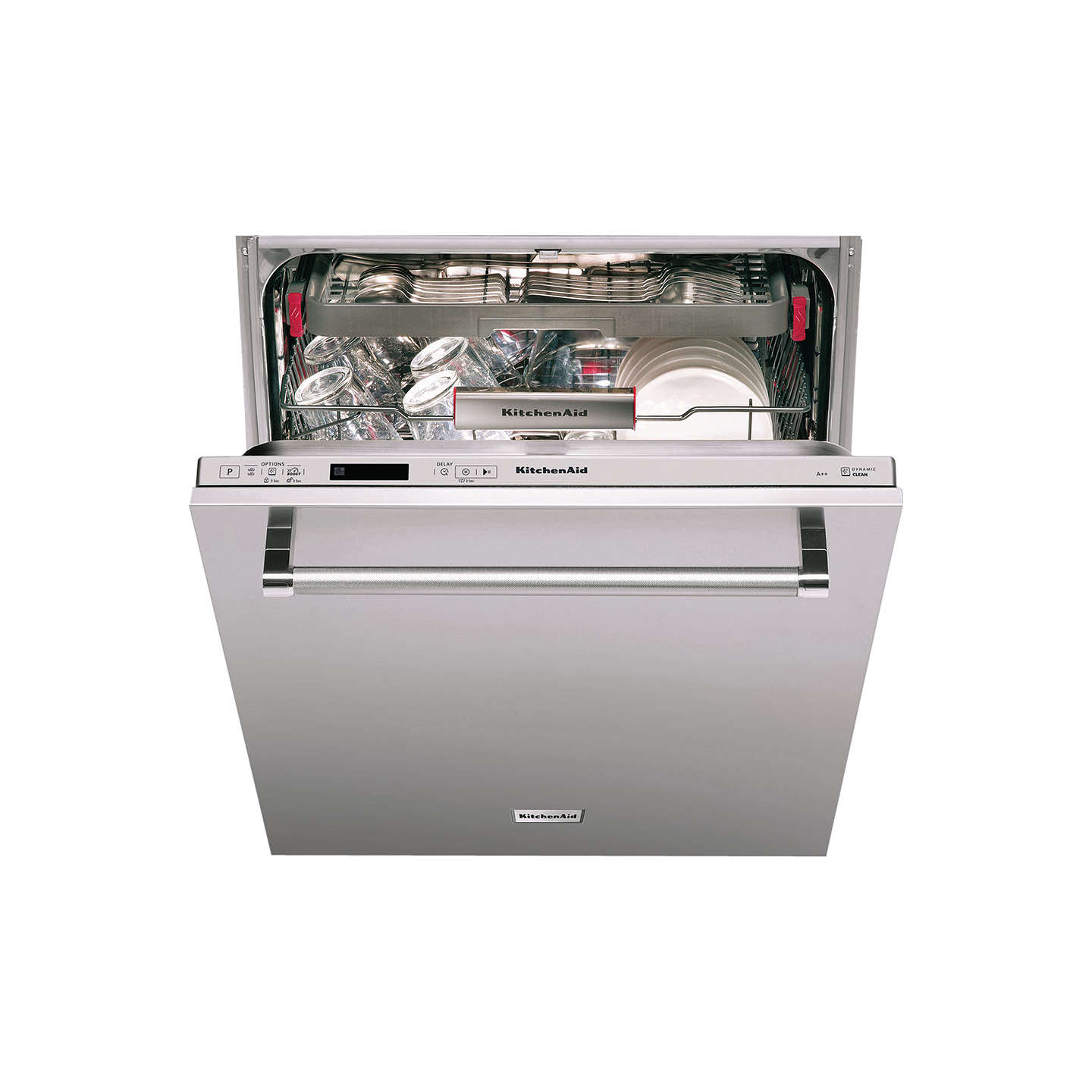 BuyKitchenaid KDSCM82140 Integrated Dishwasher Online at johnlewis.com