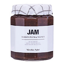 Buy Nicolas Vahe Jam With Damson Plum & Walnut, 320g Online at johnlewis.com