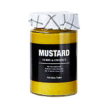 Buy Nicolas Vahe Mustard With Curry & Coconut, 190g Online at johnlewis.com