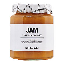 Buy Nicolas Vahe Passion & Coconut Jam, 330g Online at johnlewis.com