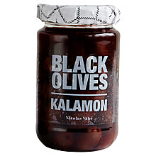 Buy Nicolas Vahe Black Olives With Kalamon, 355g Online at johnlewis.com
