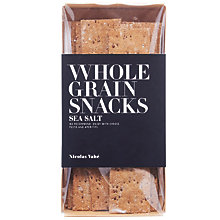 Buy Nicolas Vahe Wholegrain Crackers With Sea Salt, 100g Online at johnlewis.com