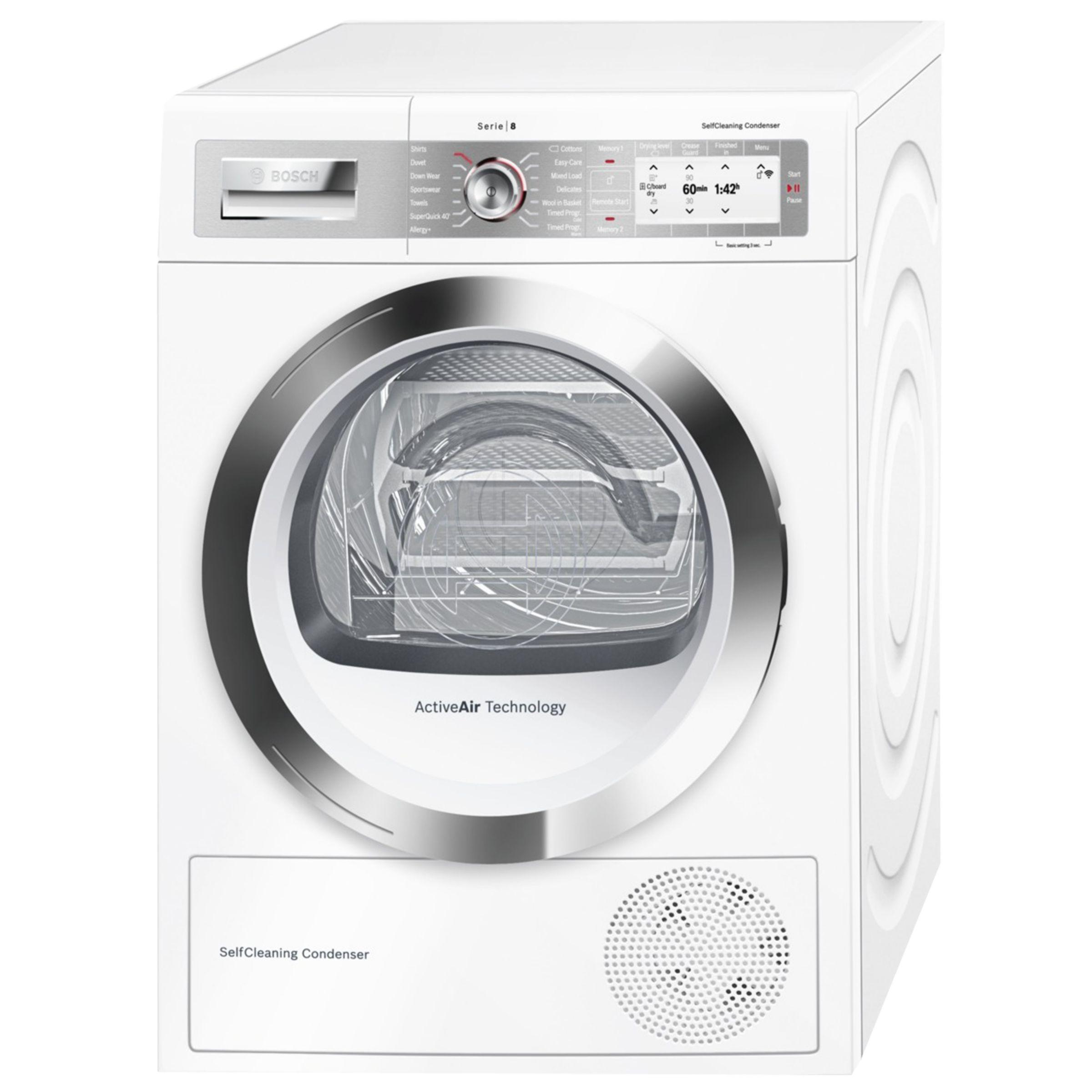 Tumble Dryers Espanol ~ Bosch wtyh gb freestanding heat pump condenser