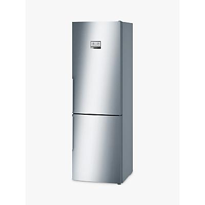 Bosch KGN36AI35G Freestanding Fridge Freezer, A++ Energy Rating, 60cm Wide, Inox Silver
