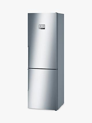 Bosch KGN36AI35G Freestanding Fridge Freezer, A++ Energy Rating, 60cm Wide, Inox Silver