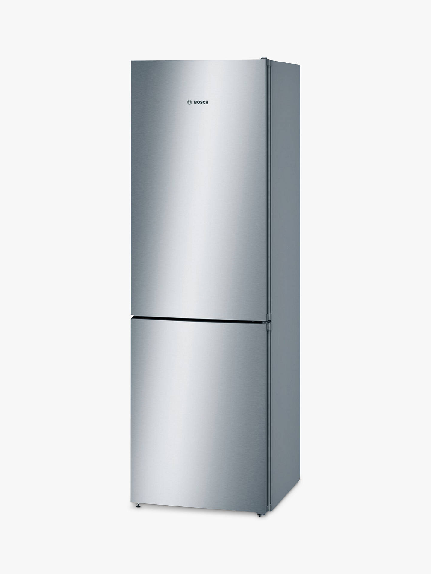 Buy Bosch KGN36VL35G Freestanding 60/40 Fridge Freezer, A++ Energy Rating, 60cm Wide, Silver Online at johnlewis.com