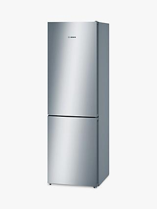Bosch KGN36VL35G Freestanding Fridge Freezer, A++ Energy Rating, 60cm Wide, Silver