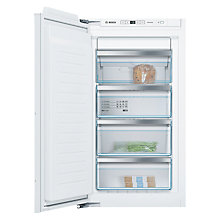 Buy Bosch GIN31AE30G Integrated Freezer, A++ Energy Rating, 56cm Wide Online at johnlewis.com