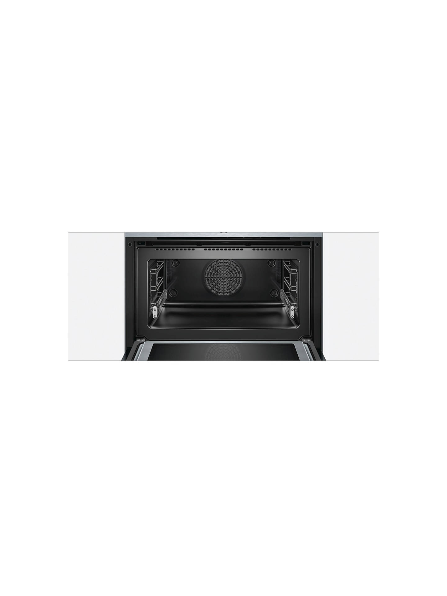 Buy Bosch CNG6764S6B Built-In Multifunction Microwave Oven, Brushed Steel Online at johnlewis.com