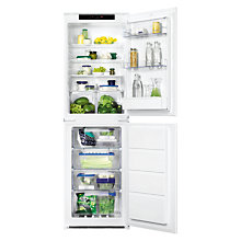Buy Zanussi ZBB27650SA Integrated Fridge Freezer, A+ Energy Rating, 54cm Wide Online at johnlewis.com