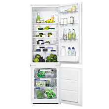 Buy Zanussi ZBB28441SA Integrated Fridge Freezer, A+ Energy Rating, 54cm Wide Online at johnlewis.com