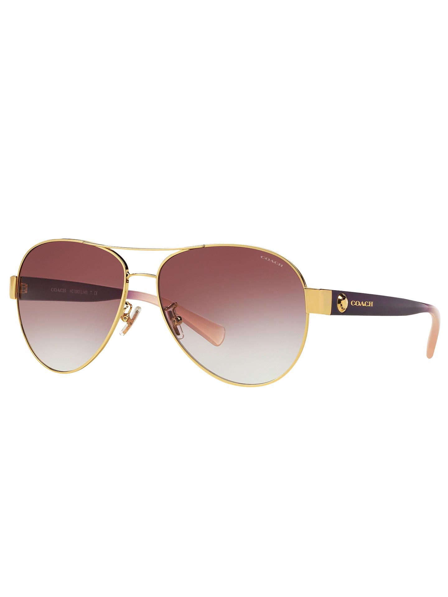2e59dc5a42 BuyCoach HC7063 Aviator Sunglasses