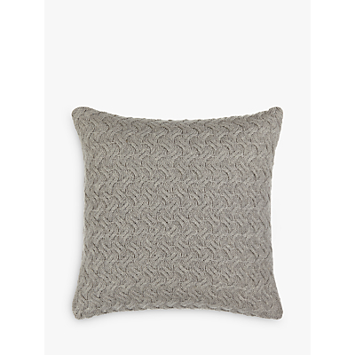 Croft Collection Knitted Waves Cushion
