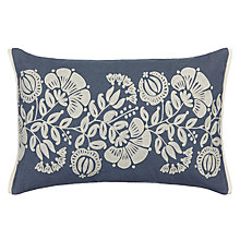 Buy Genevieve Bennett for John Lewis Persian Thistle Cushion, Slate Online at johnlewis.com