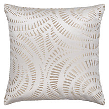 Buy Harlequin Fractal Cushion, Flax Online at johnlewis.com