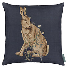 Buy Morris & Co Hare Cushion, Multi Online at johnlewis.com