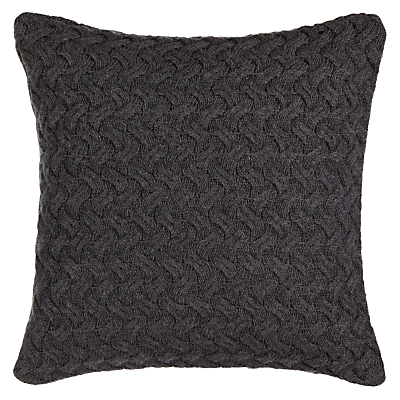John Lewis Croft Collection Knitted Waves Cushion