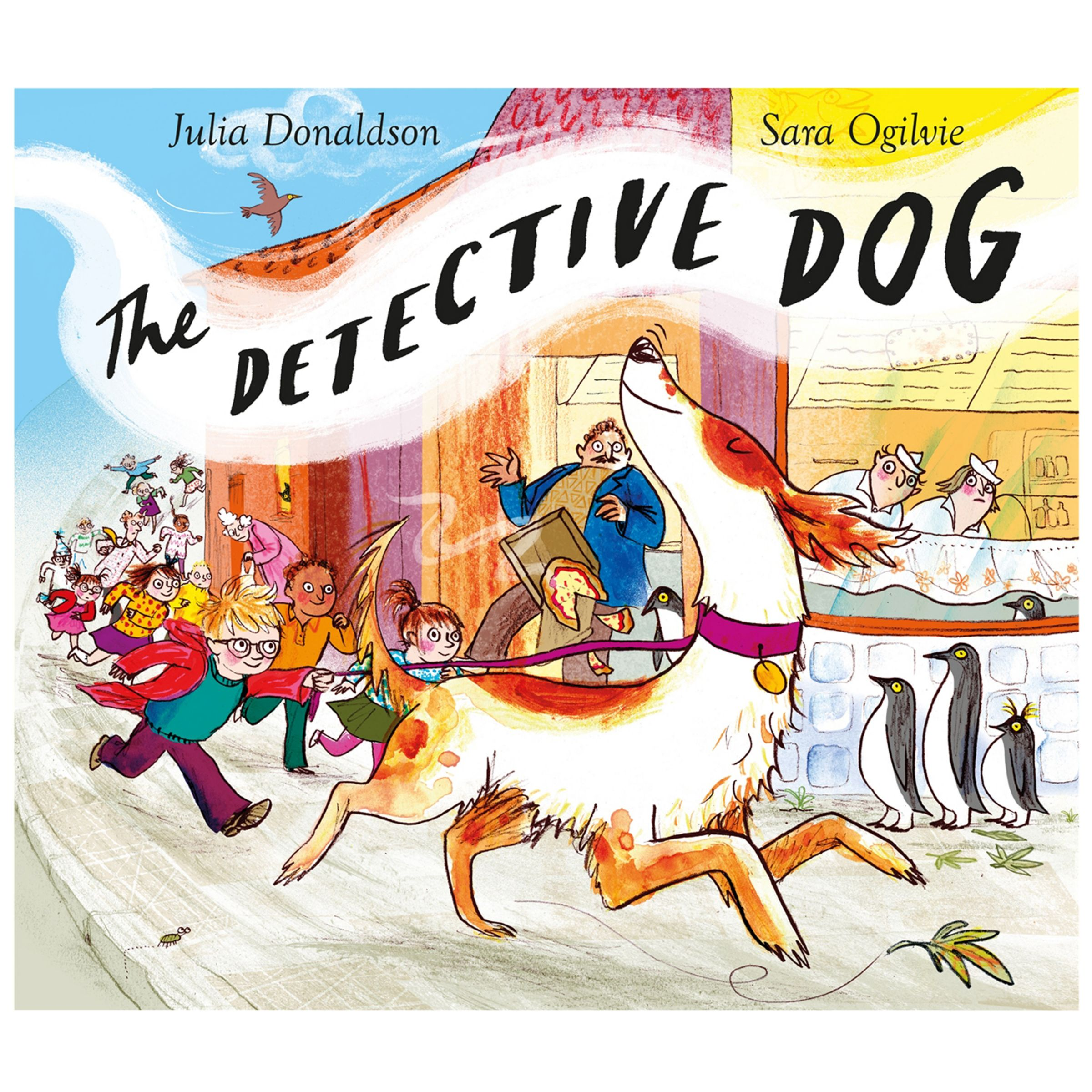 Macmillan The Detective Dog Children's Book
