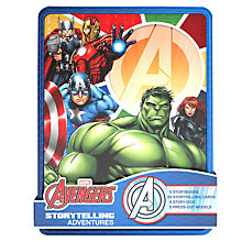 Buy Marvel Avengers Storytelling Adventures Tin Online at johnlewis.com