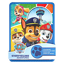 Buy PAW Patrol Storytelling Adventures Cards and Storybooks Tin Online at johnlewis.com