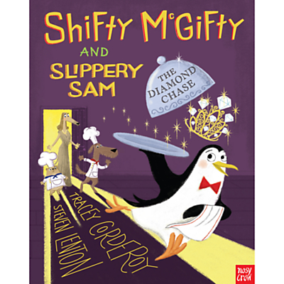 Shifty McGifty and Slippery Sam: The Diamond Chase Children's Book