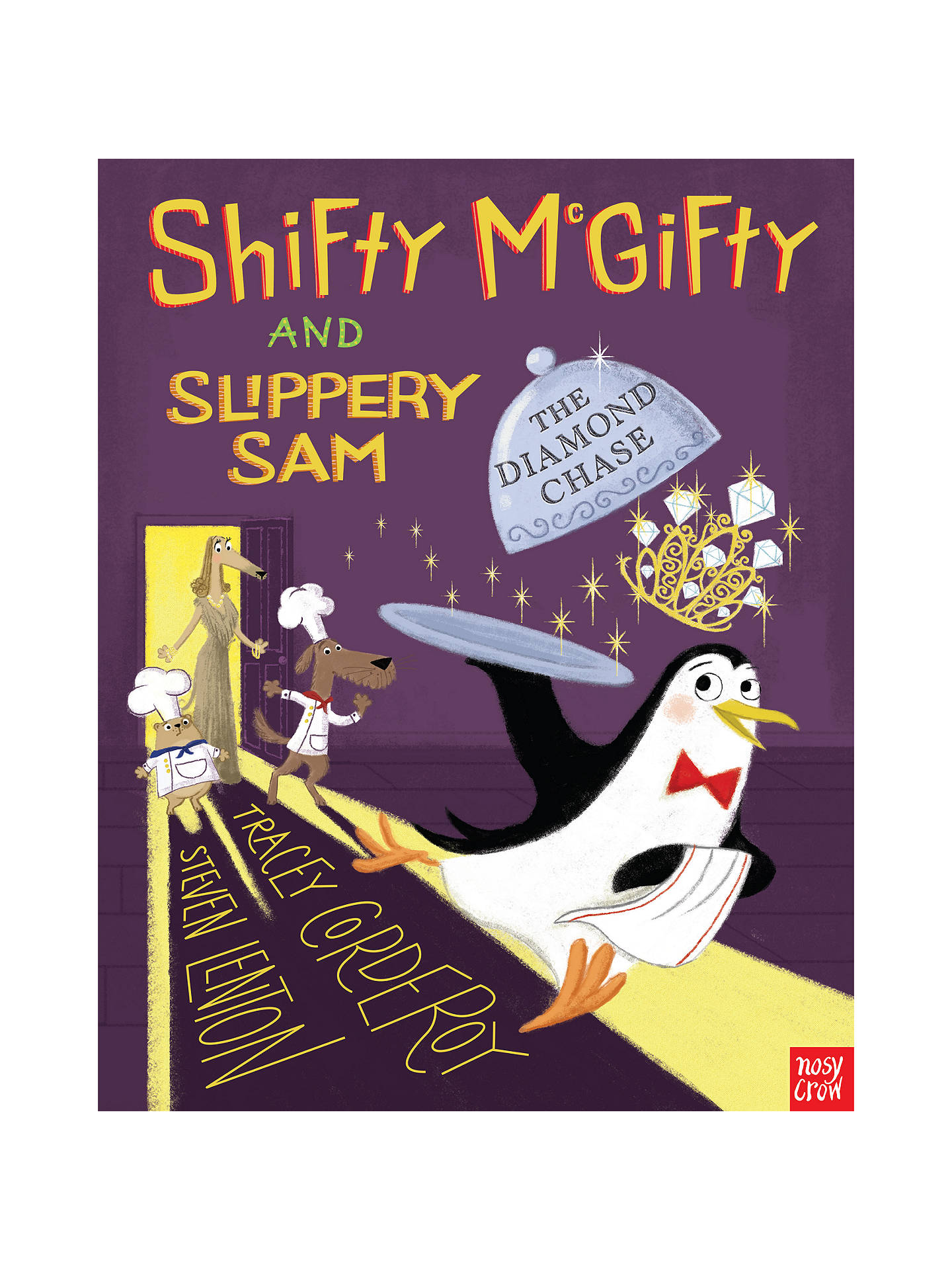 Buy Shifty McGifty and Slippery Sam: The Diamond Chase Children's Book Online at johnlewis.com
