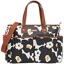 Buy Babymel Bella Floral Changing Bags, Black Online at johnlewis.com