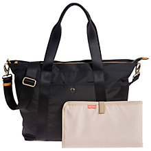 Buy Jem + Bea Lola Tote Changing Bag, Black Online at johnlewis.com