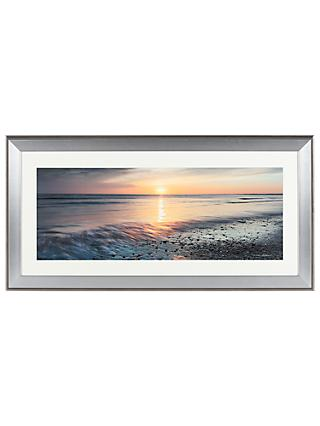 Mike Shepherd - Ebb & Flow Embellished Framed Print, 55 x 110cm