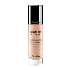 Buy Guerlain Lingerie de Peau Natural Perfection Skin-Fusion Texture Foundation Online at johnlewis.com