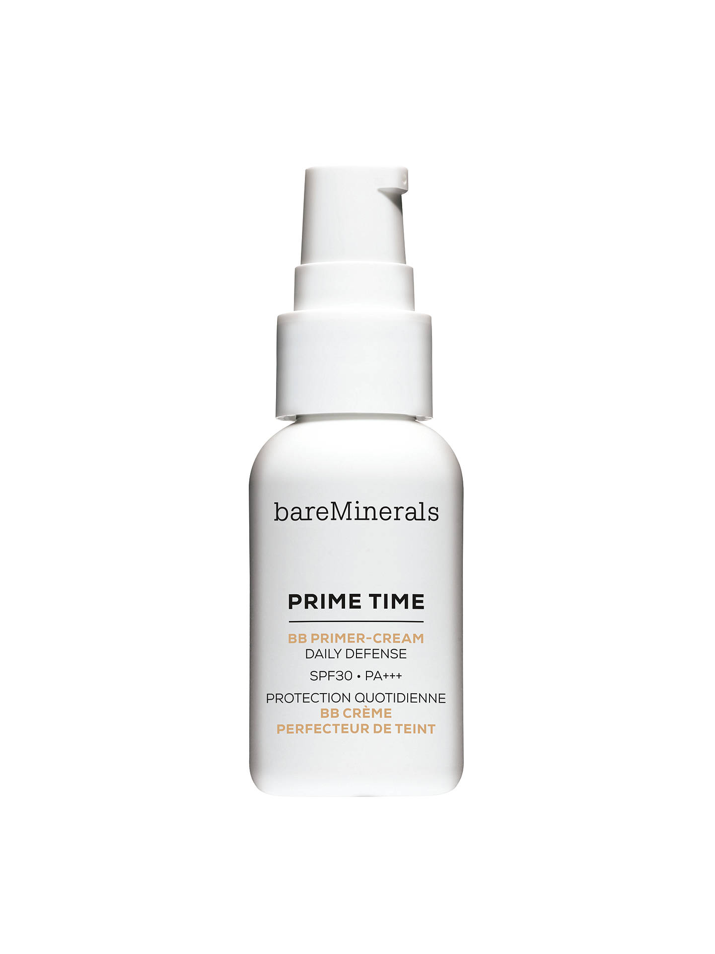 Buy bareMinerals Prime Time™ BB Primer-Cream Daily Defense SPF 30, Fair Online at johnlewis.com