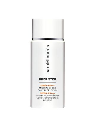 bareMinerals Prep Step™ SPF 50 PA++++ Mineral Shield Daily Prep Lotion