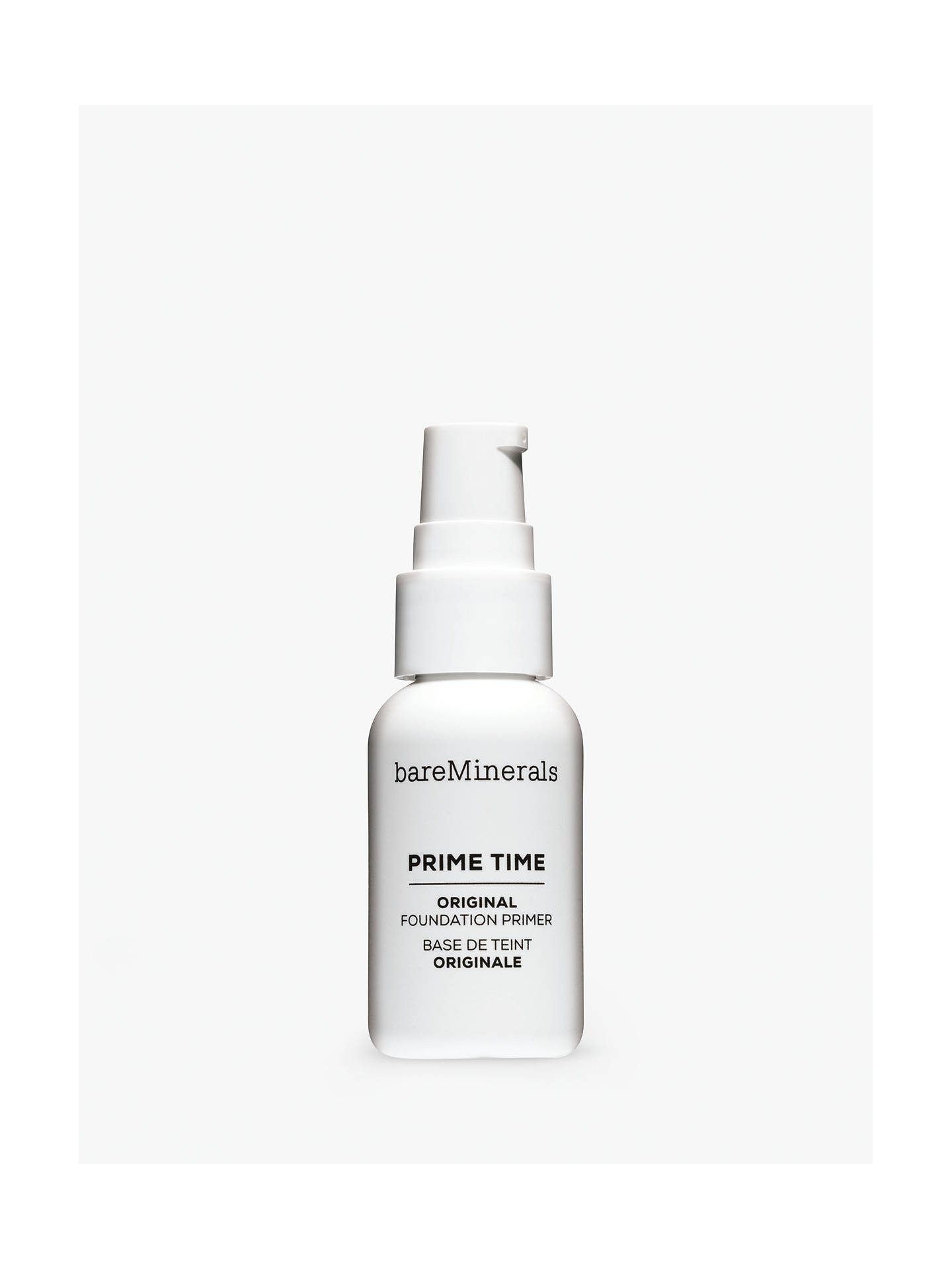 Buy bareMinerals Prime Time™ Brightening Foundation Primer Online at johnlewis.com