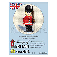 Buy Mouseloft London Guard Cross Stitch Kit Online at johnlewis.com