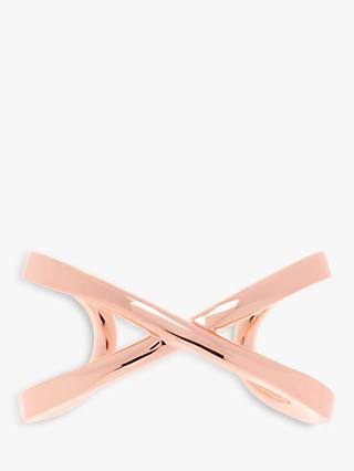 Karen Millen Criss Cross Open End Cuff