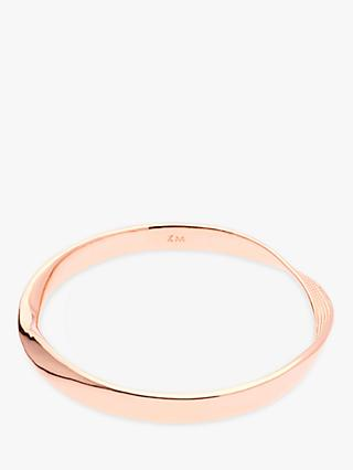 Karen Millen Textured Twist Narrow Bangle