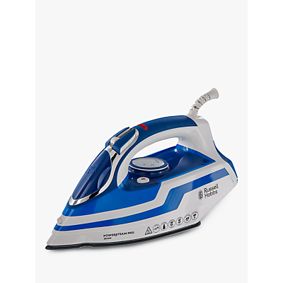 Russell Hobbs 20631 Power Steam Pro Iron, Blue/White