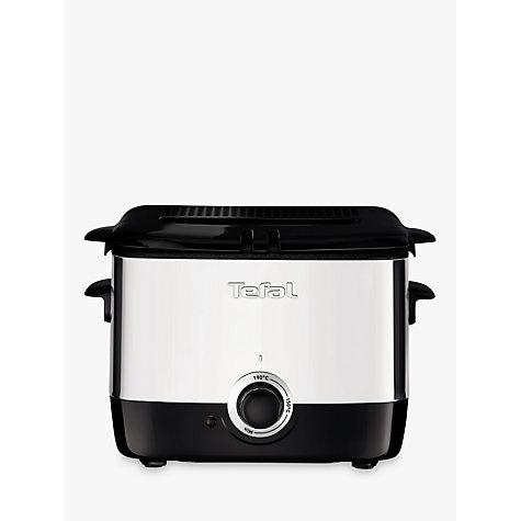 Buy tefal mini pro fryer stainless steel john lewis - Tefal raclette grill john lewis ...