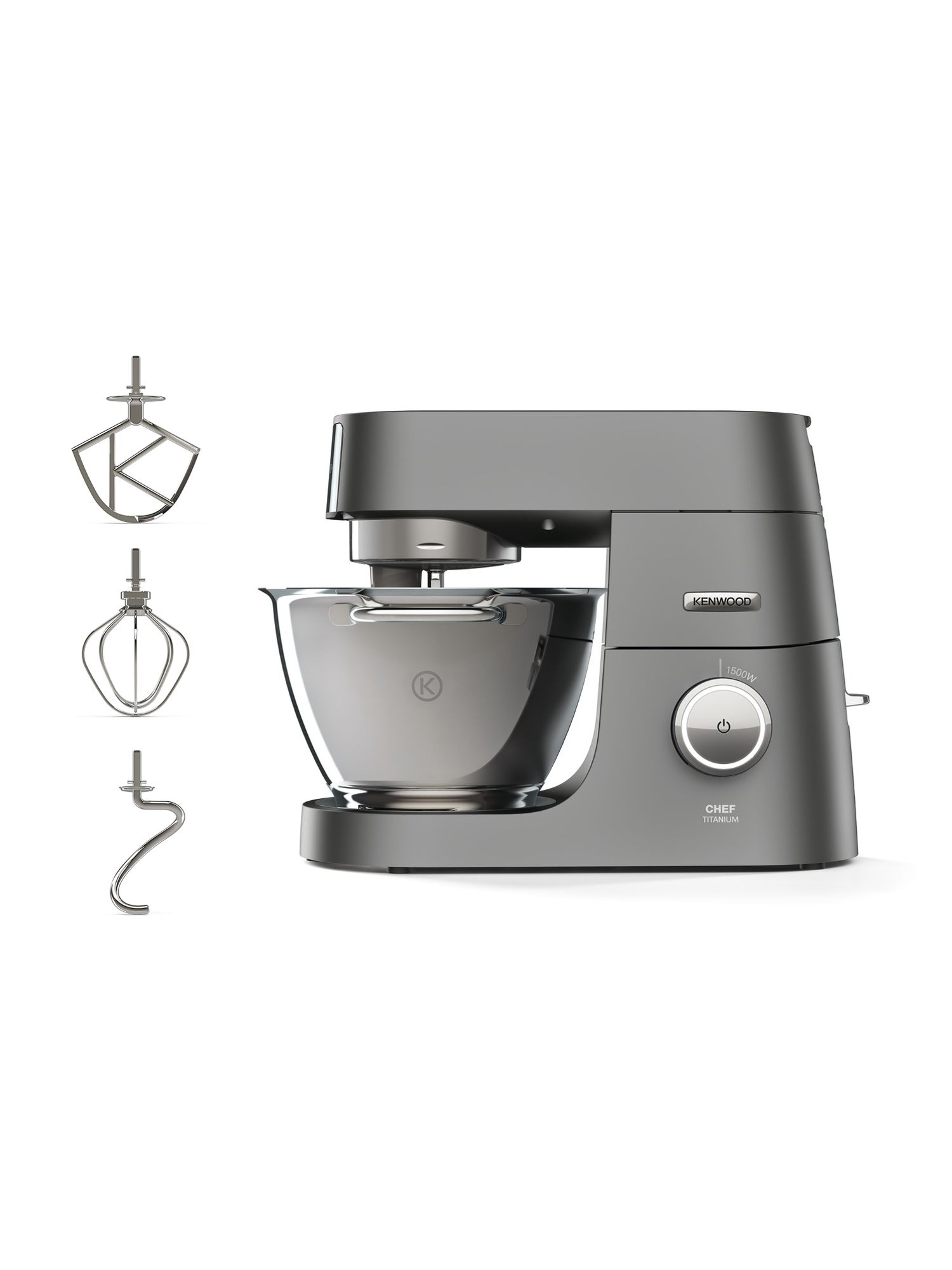 Kenwood Kenwood KVC7300S Chef Titanium Stand Mixer, Silver