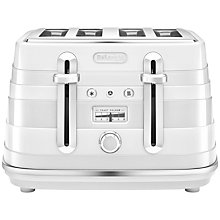 Buy De'Longhi Avvolta 4-Slice Toaster Online at johnlewis.com