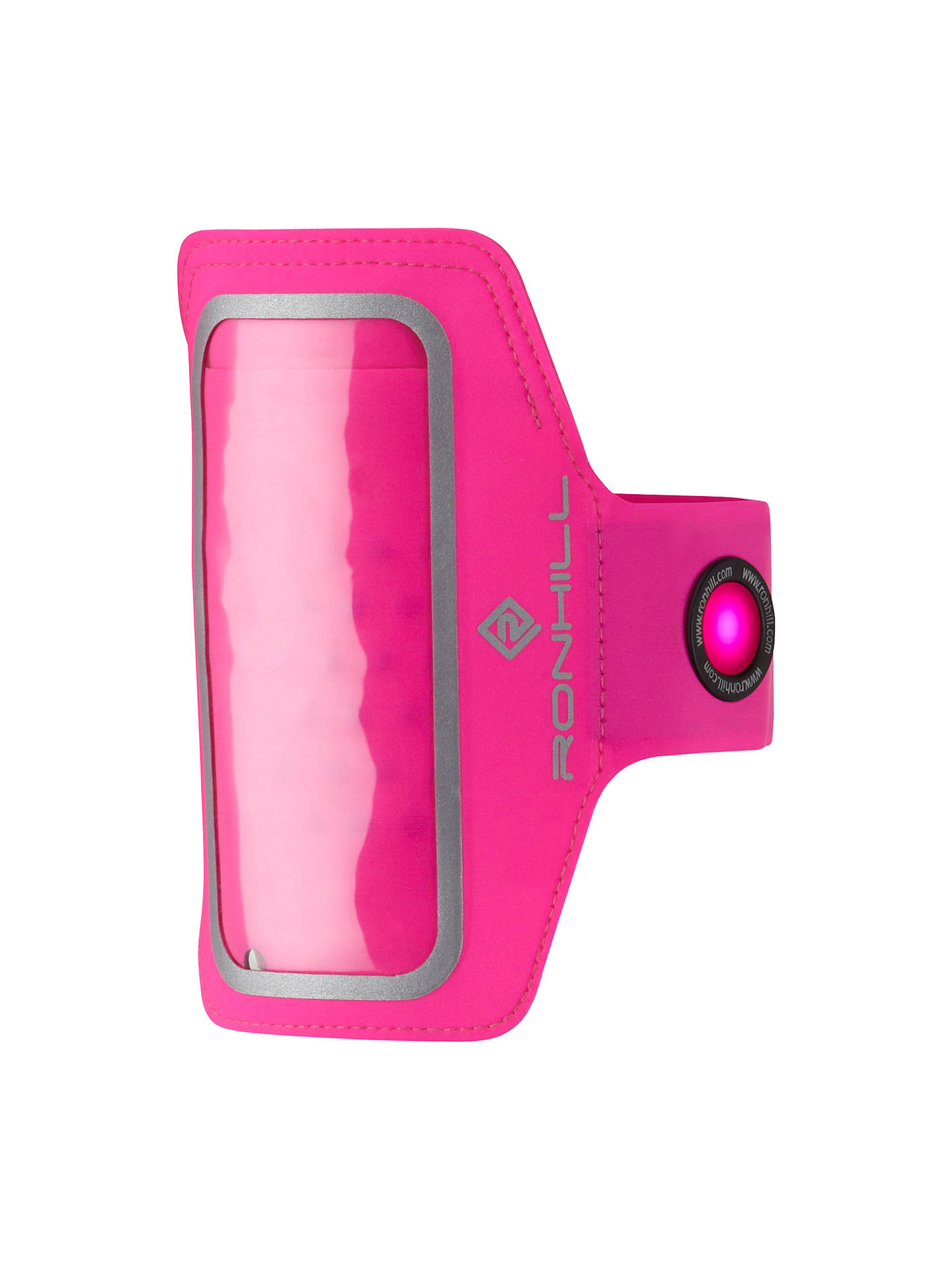 Ronhill Phone Mp3 Armband One Size Fluorescent Pink At