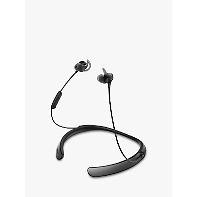 Image of Bose® QuietControl® Noise Cancelling® QC30 Bluetooth/NFC Wireless In-Ear Headphones with Mic/Remote, Black