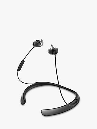 Bose® QuietControl® Noise Cancelling® QC30 Bluetooth/NFC Wireless In-Ear Headphones with Mic/Remote, Black