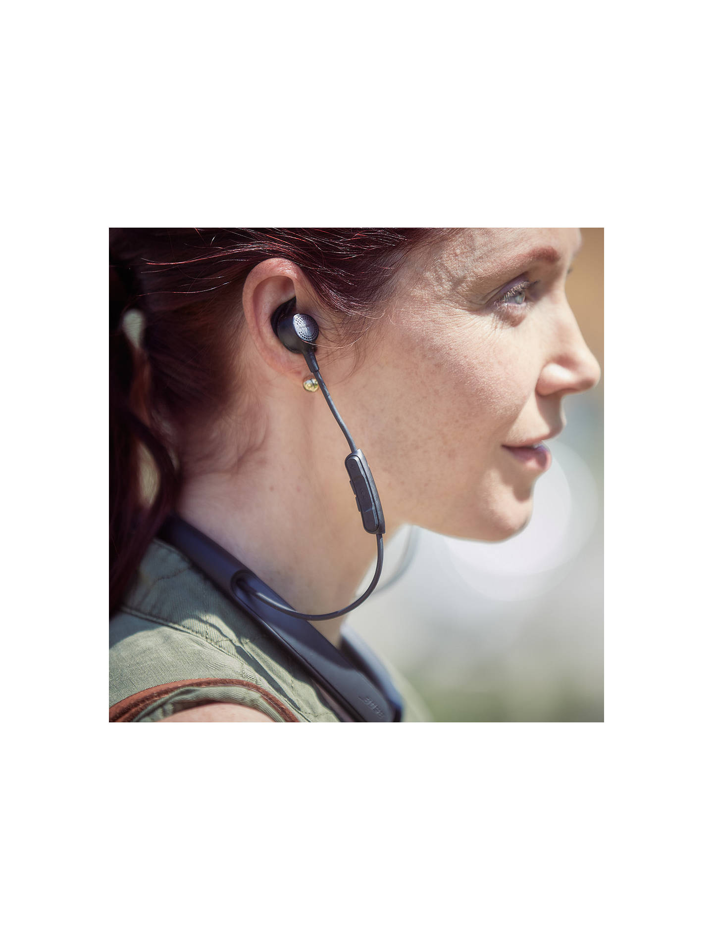 BuyBose® QuietControl® Noise Cancelling® QC30 Bluetooth/NFC Wireless In-Ear Headphones with Mic/Remote, Black Online at johnlewis.com
