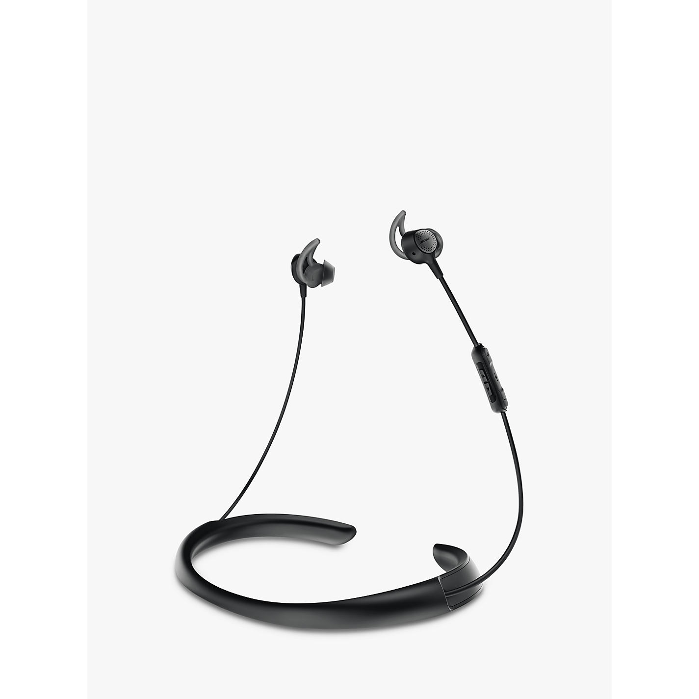 bose wireless bluetooth headphones. buy bose® quietcontrol® noise cancelling® qc30 bluetooth/nfc wireless in-ear bose bluetooth headphones d