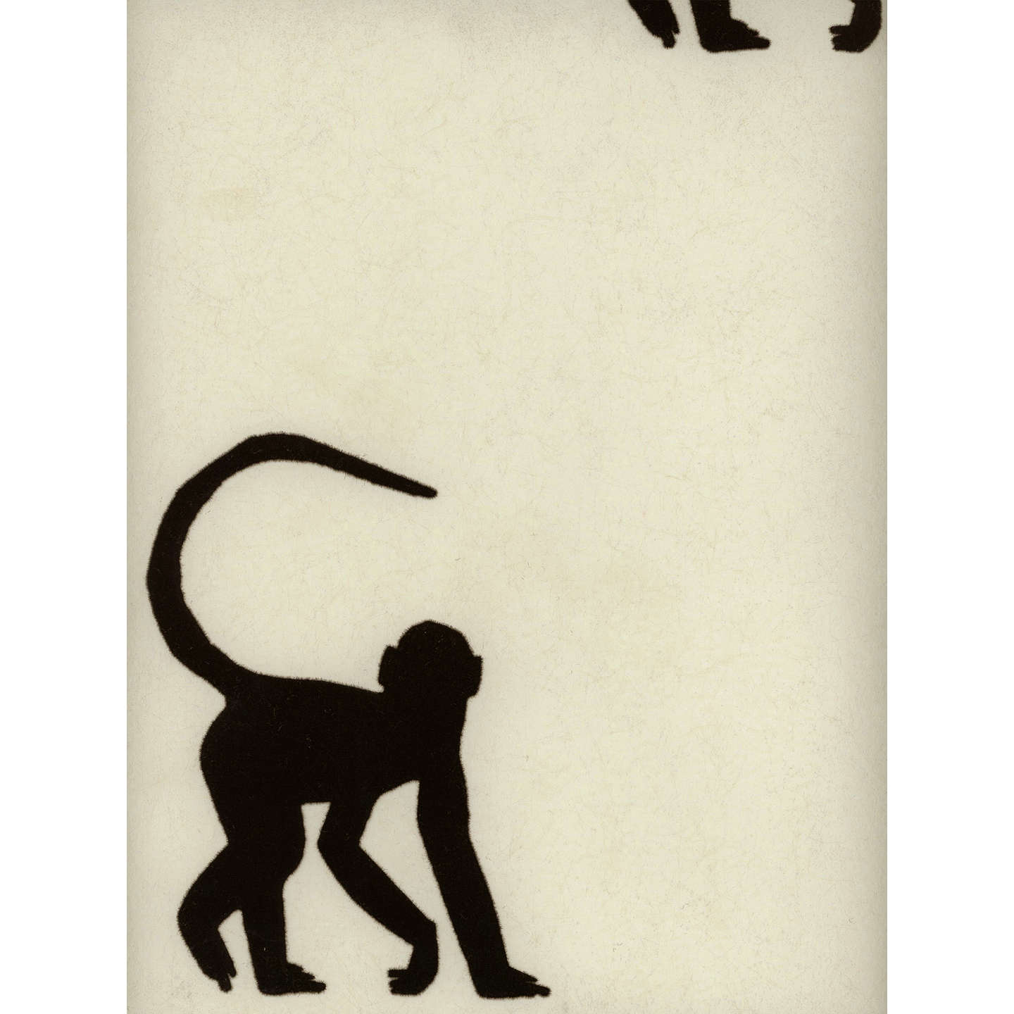 BuyHolly Frean for Andrew Martin Cheeky Monkey Paste the Wall Wallpaper, Ebony Online at johnlewis.com