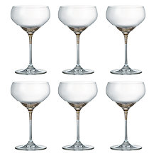 Buy John Lewis Vino Spiral Coupe Glasses, Set of 6, 250ml Online at johnlewis.com