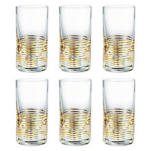 Buy John Lewis Vino Spiral Shot Glasses, Set of 6 Online at johnlewis.com